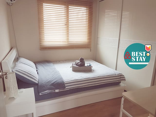 [Sinchon / Hongdae] Private Double Room