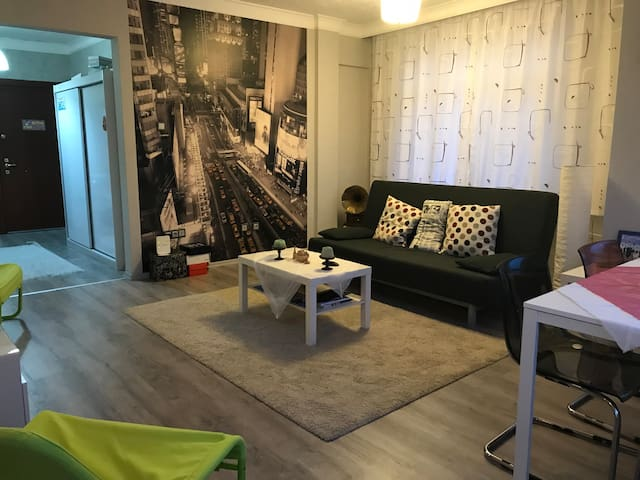 Central & beautiful cosy apartment- private room