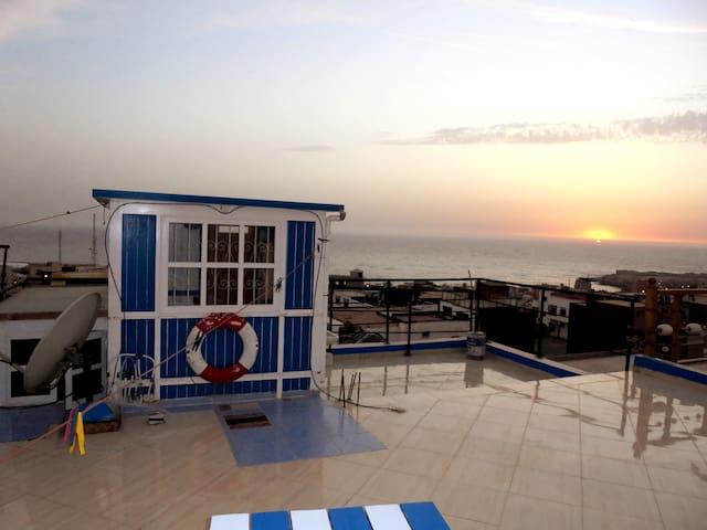seaside house, ground floor flat