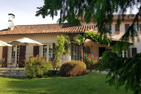 Le Tilleul with large private pool - Saint-Quentin-de-Chalais - Casa