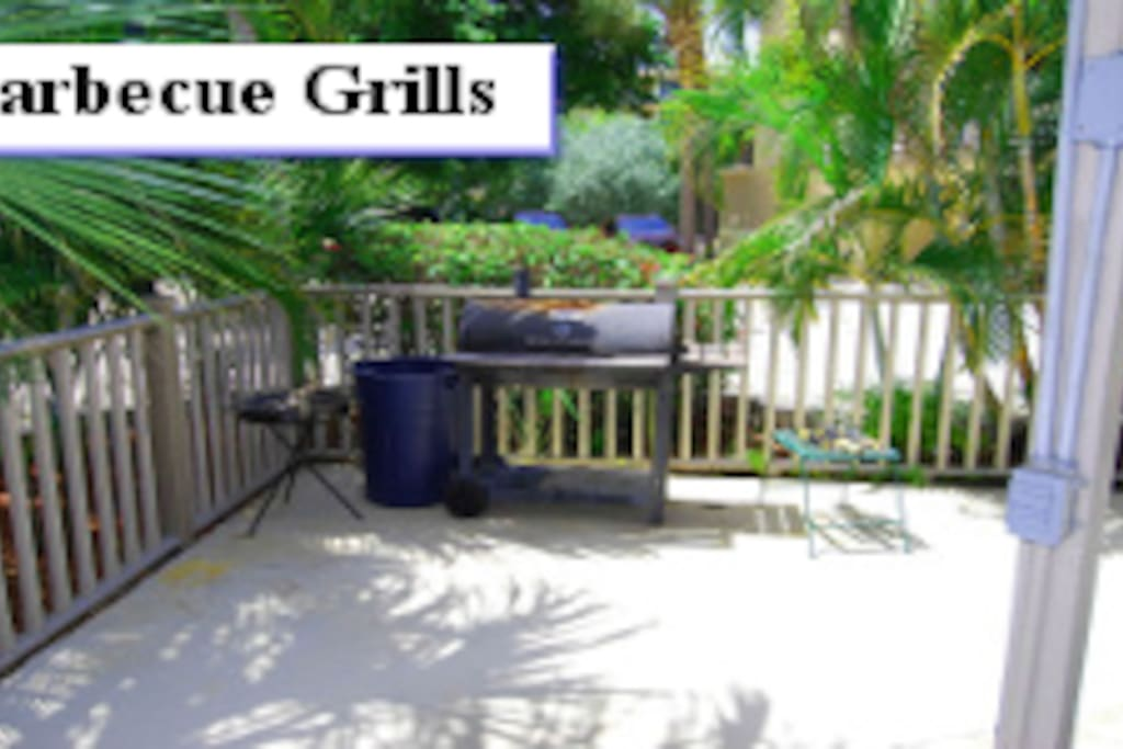 Gas and Charcoal Grills