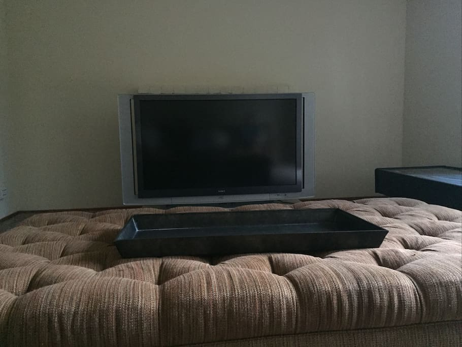 Spacious Living room with 60inch