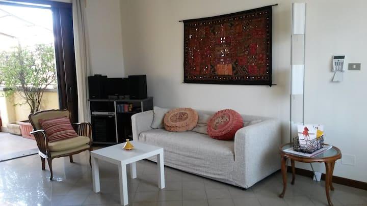 Grande appartamento con terrazzo zona centrale