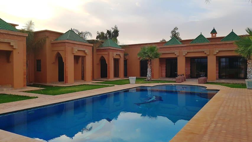 Villa de Charme à Marrakech - Sidi Bouzguia - Villa