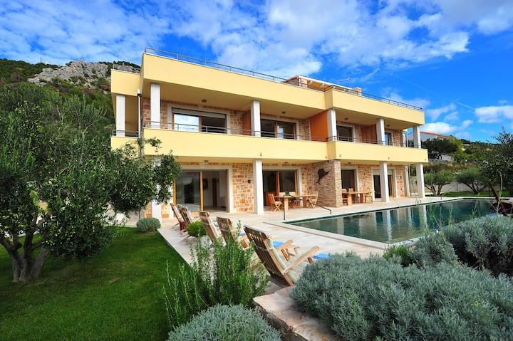 New**** Villa Fora, Luxurious apartment Olive tree