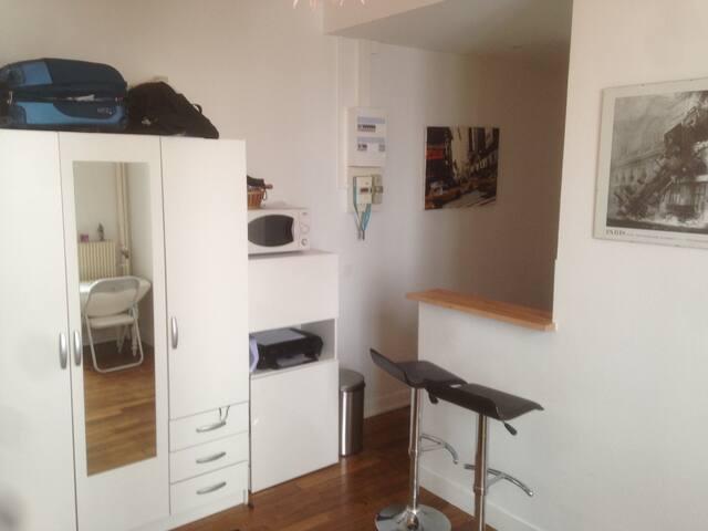 Studio near Eiffel Tower - Paris - Apartemen
