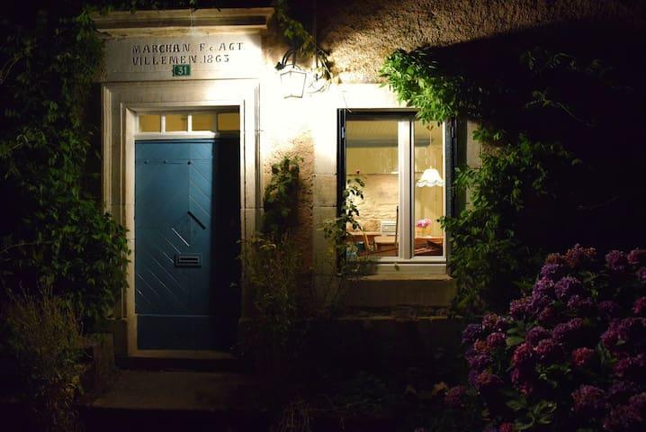 Une nuit à la ferme du Château de Bellevue - Le Clerjus - Alojamento ecológico
