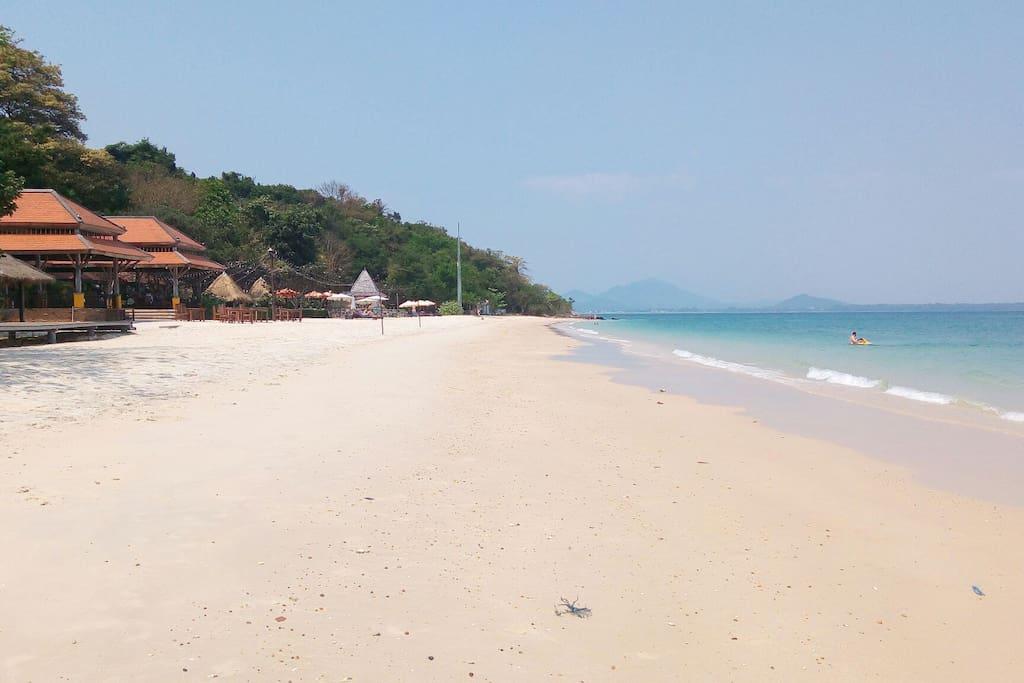 Plage de Ah noi na .la plage n 'est pas privé . Accès à tout public !!!!