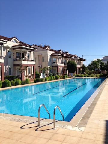 2 Bedroom beautiful duplex apartment with pool
