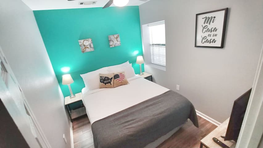 Bedroom 2 Pic 1 : Queen Sized Orthopedic Beds with FRESH CLEAN sheets and blankets are a must!