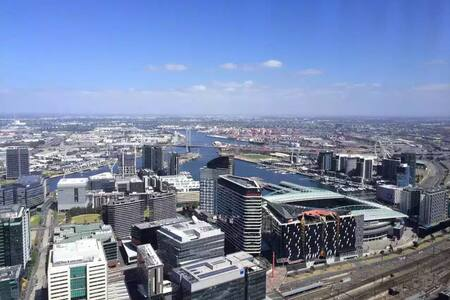 WINTER SPECIALS-Graceful Sky-high Harbour 1BR Apt! - Melbourne - Apartment