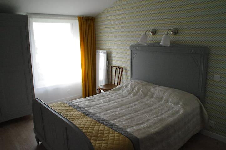 Chambre confortable avec espace de jour convivial - Feyzin