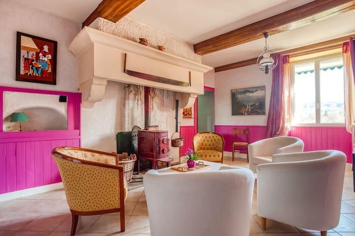 Casa vacanze ad Anchenoncourt-et-Chazel vicino alle piste da sci