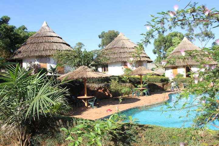 Rent an african hut in Masaka