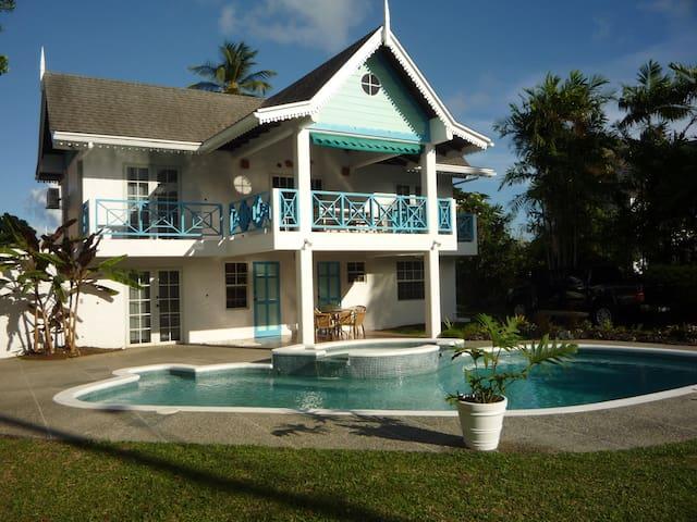 177 Sea Shell Villa, Tobago W.I. - Bon Accord - House