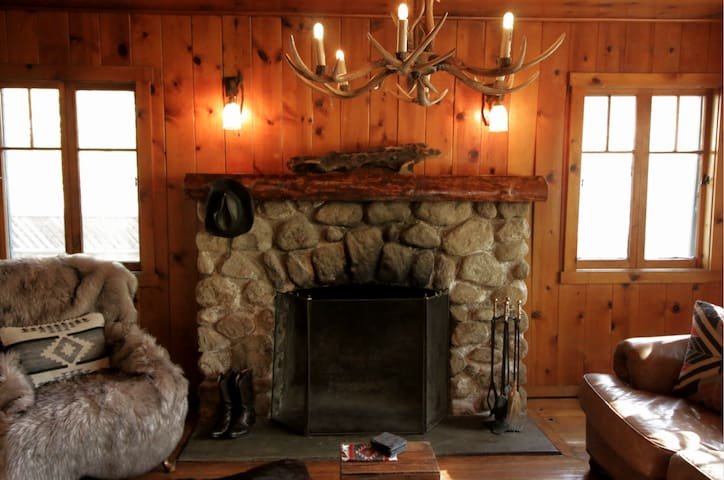 #1 location in town. Spa. Historic Cowboy Cabin.