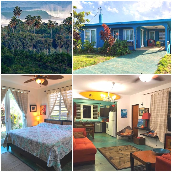 Wilderness Surf View, The BLUE HOUSE Aguadilla