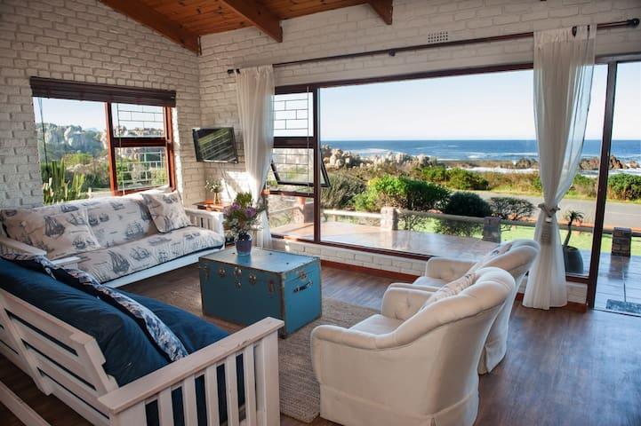 Kleinmond seafront beach house