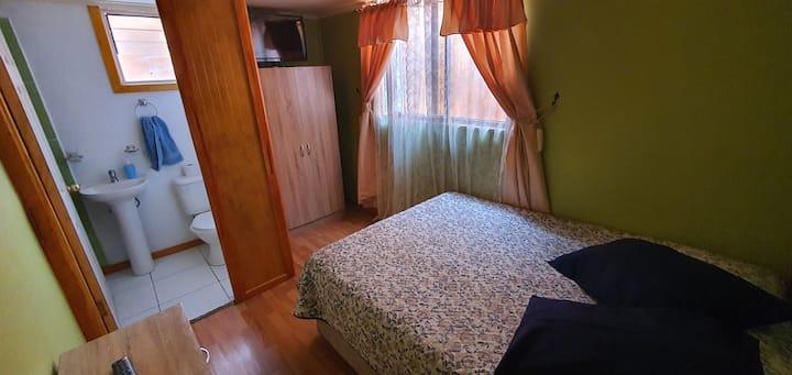 Apartamento interior 2 personas, centro de Caldera