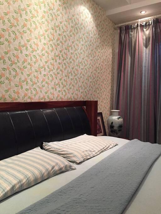 全棉针织床上用品。床笠,被套,枕套国际标准,无印良品风