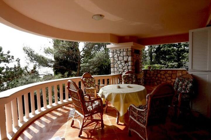 Spacious apartment with seaview - Novi Vinodolski - Villa