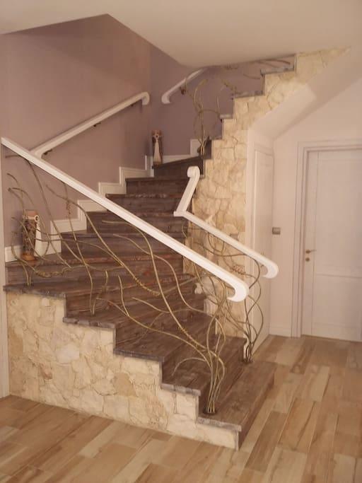 your studio upstairs