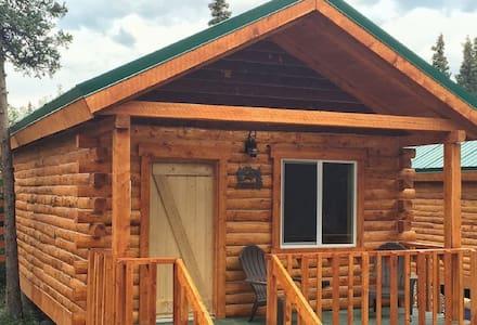 Cozy Lynx Cabin - Healy - Blockhütte