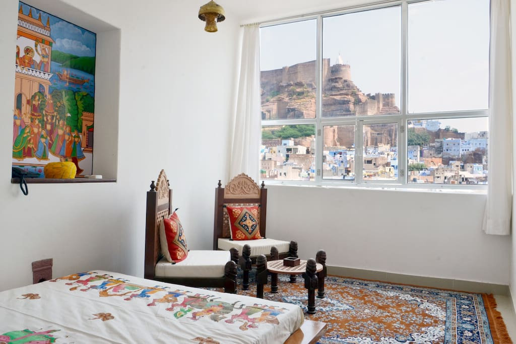 Jewel Palace Haweli With Castle View Guesthouse For Rent