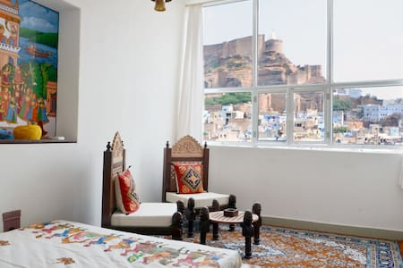 Jewel Palace Haweli With Castle View - Jodhpur - Inap sarapan