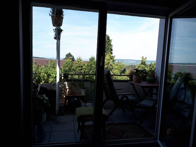 Nice Flat with beautiful view from the Balkony