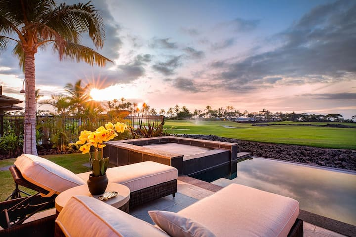 Luxury Home w/Pool & Ocean View, Near Golf, Dining: Laule`a at Mauna Lani #5