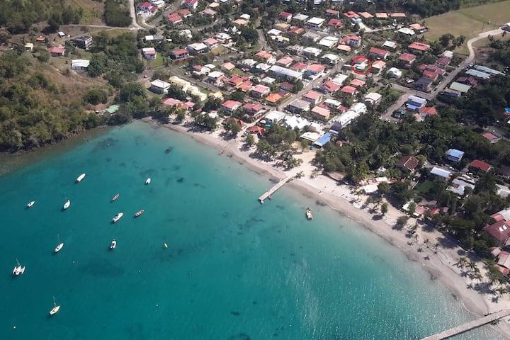 BEAU T3 à 100 m de la plage de l 'Anse à l'Ane