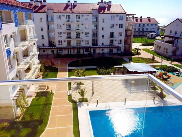 Апартамент в олимпийском парке, - Адлер - Huoneisto