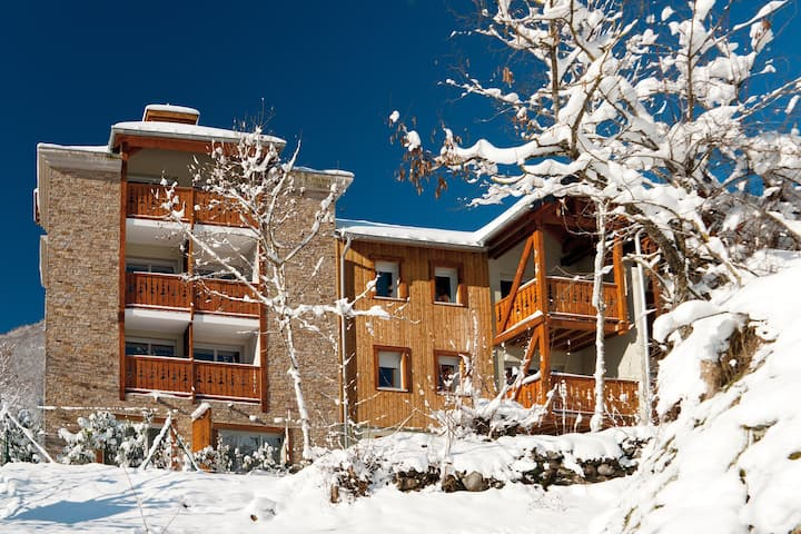 Grand Appartement | Accès sauna + parking + ski !