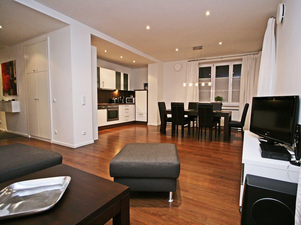 Wohn- und Esszimmer Dining-Livingroom