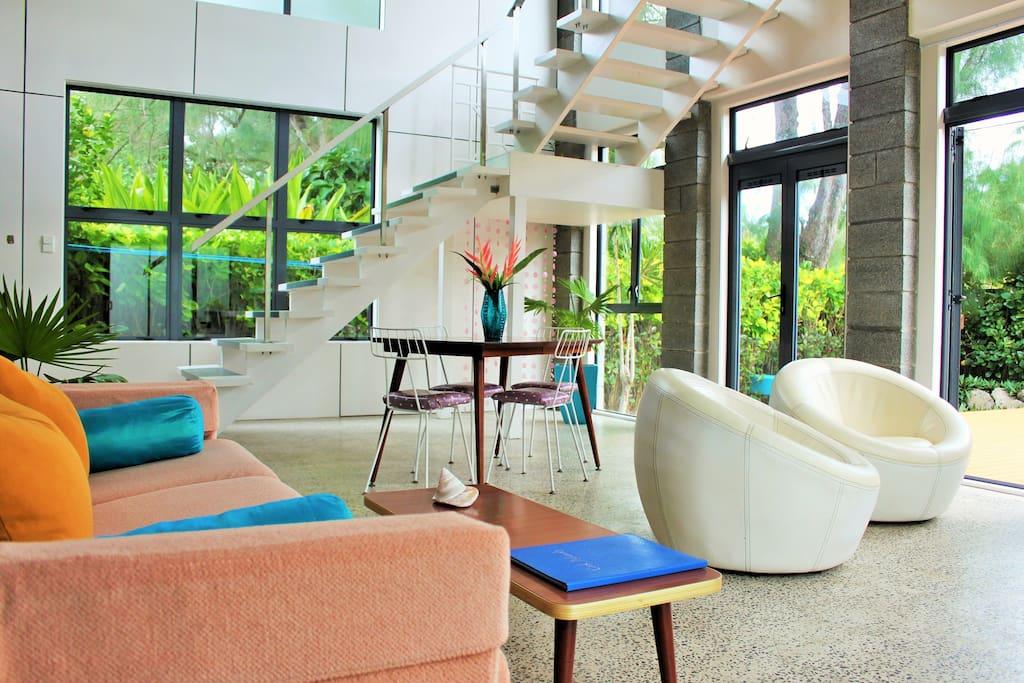 Modern Pacific decor