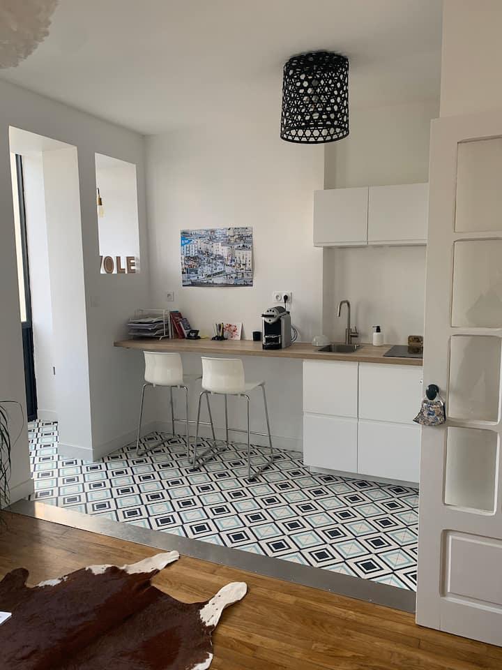Appartement charmant dans la cité du Ponant