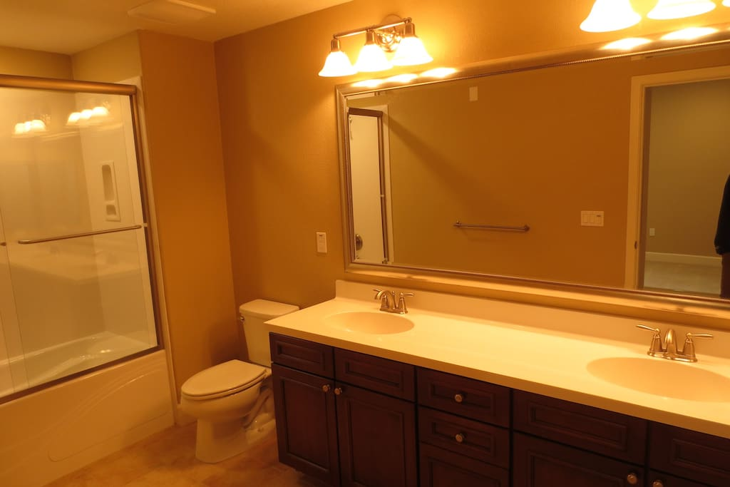 New bathrooms