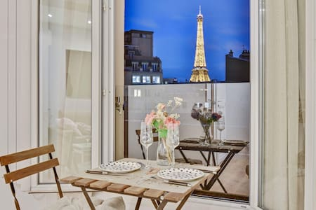 Eiffel Tower IN your living room