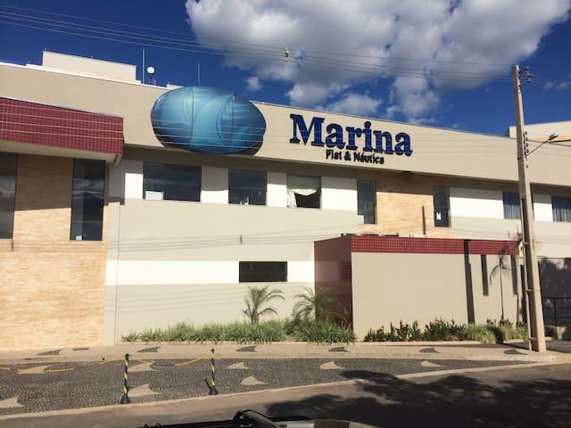 Frente do Marina Flat