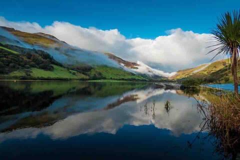 Bwthyn Hwyaden: dog-friendly Snowdonia cottage