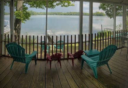 Island View on Bass Lake