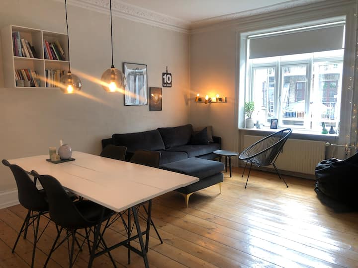 Charming and unique home in Østerbro