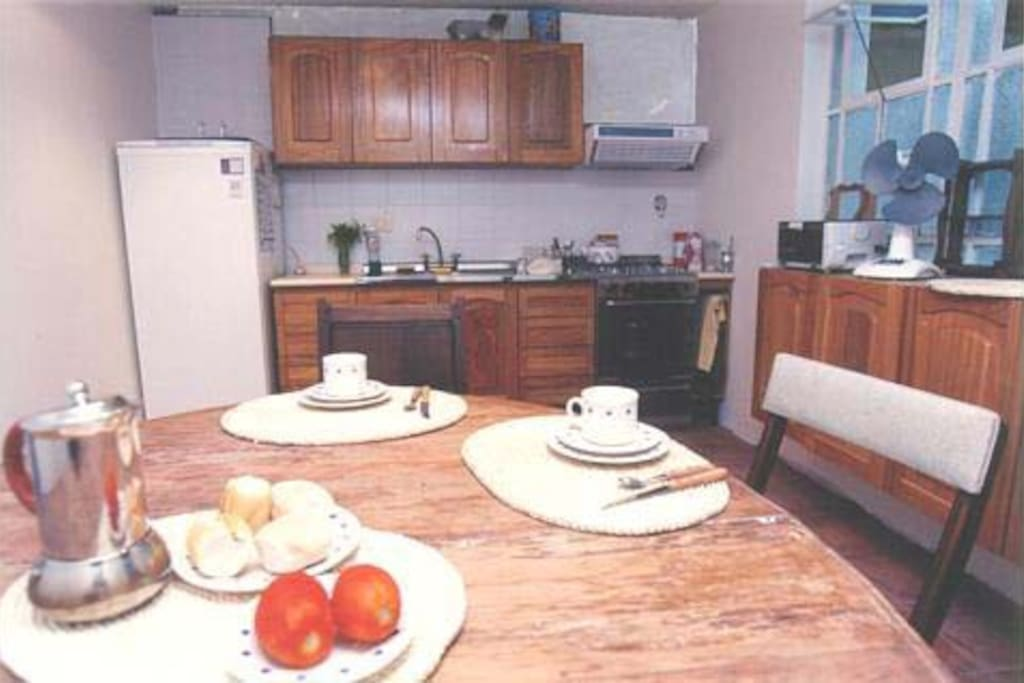 Spacious Kitchen Available 24hs