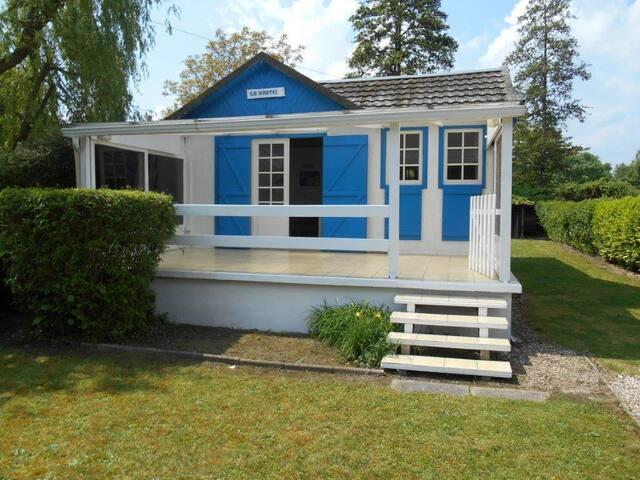petite maison calme au bord de Seine