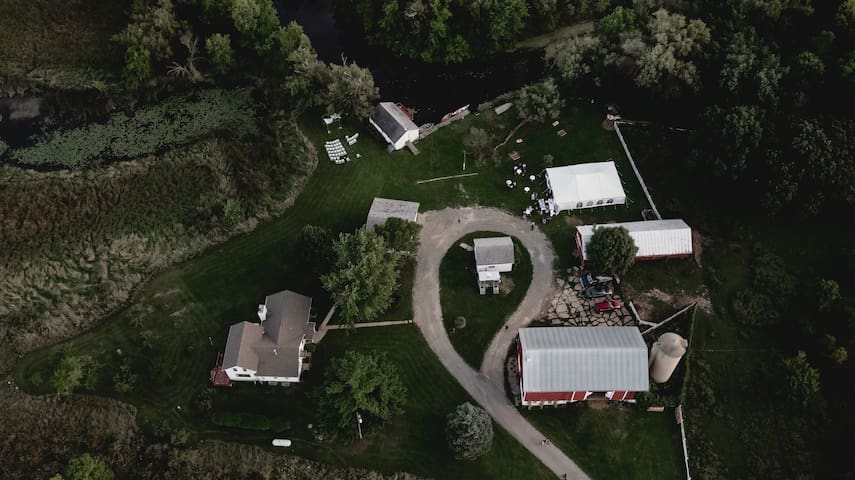 Whole Farm! 170+ Beautiful Acres for Large Groups