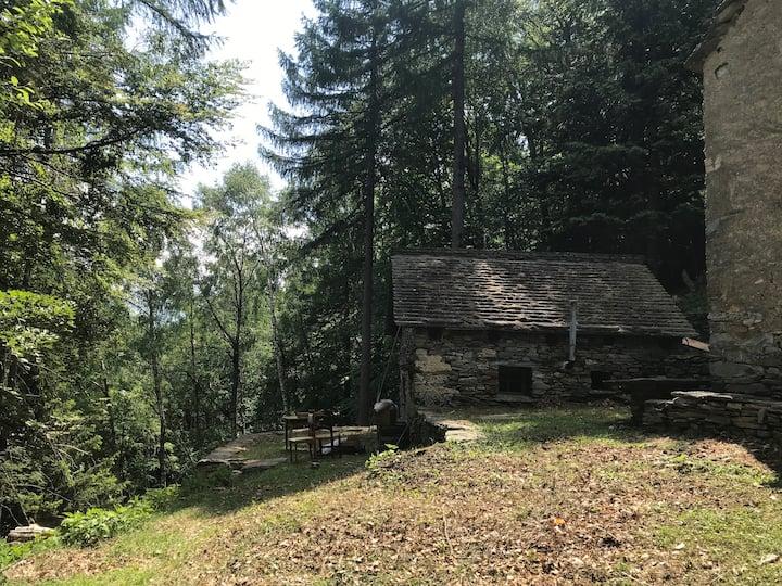 Casa Gertrud auf der Alpe Soladino