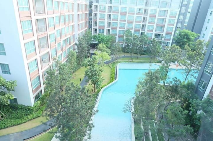 New luxury room D condo Ping & large swimming pool