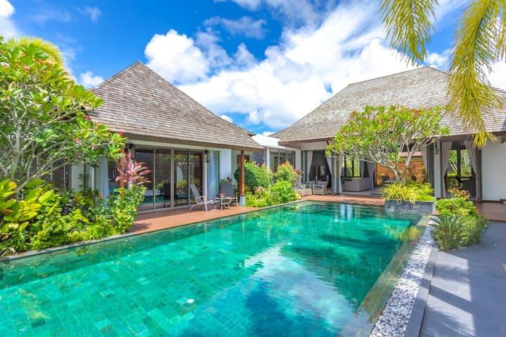Phuket Villa 4 Bedroom Choeng Thale by XXIV 4臥泳池別墅