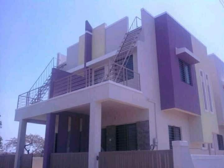 2BHK AC Row House Bunglow in good Environment